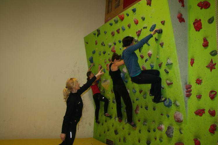 Big wall edzés